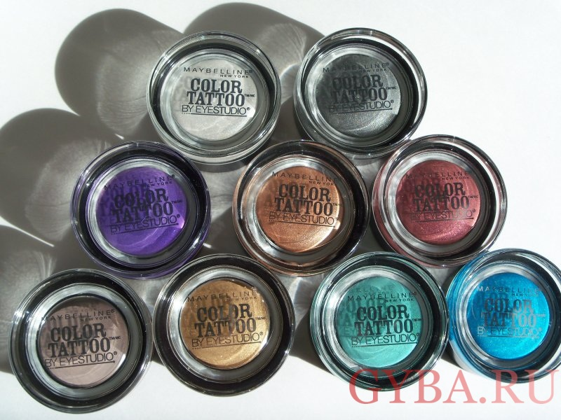 Maybelline color tattoo фото
