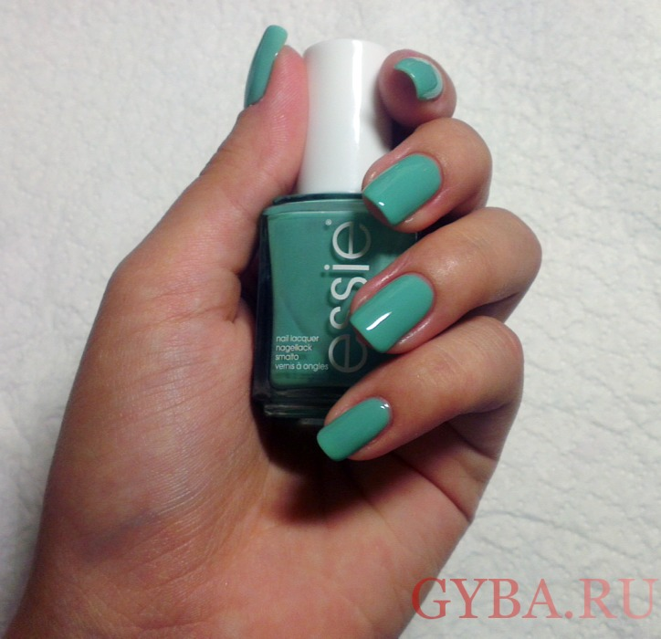 Essie Nail Lacquer Turquoise&Caicos фото
