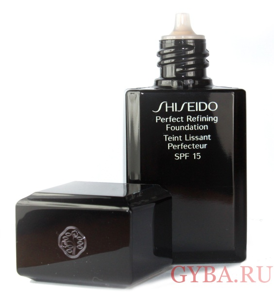shiseido perfect refining foundation фото