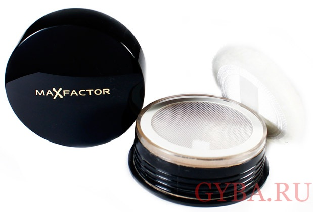 Пудра Max Factor Loose Powder с сеточкой фото