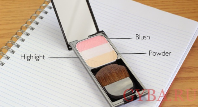 Оттенок PK1 из палитры Face Color Enhancing Trio